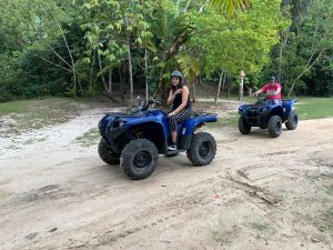 quad driving