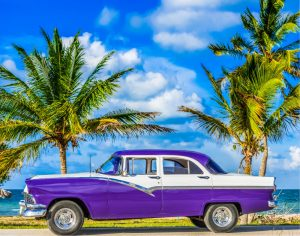 Classic American old car