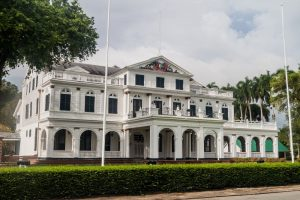 Presidential  palace in Suriname